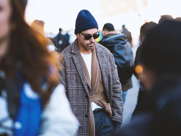 How to wear Beanies this winter for guys by Enfnts Terribles
