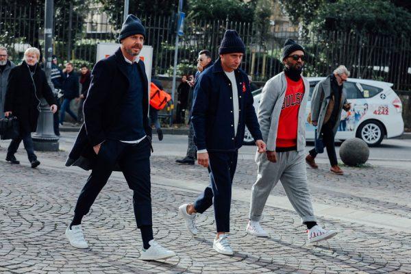 Men's fashion winter staples: high-top beanies