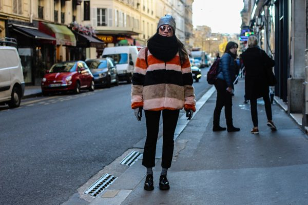 Paris Street Style: LOOK 8 - Fur coat - ENFNTS TERRIBLES