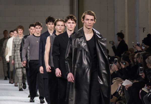 Lee Wood's debut at Dirk Bikkembergs in Milan
