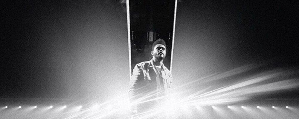 The Weeknd performing in Sportpaleis (Antwerp, Belgium)