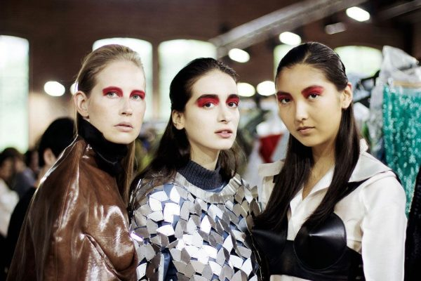 Antwerp Fashion Academy's #SHOW2017 Beautylook