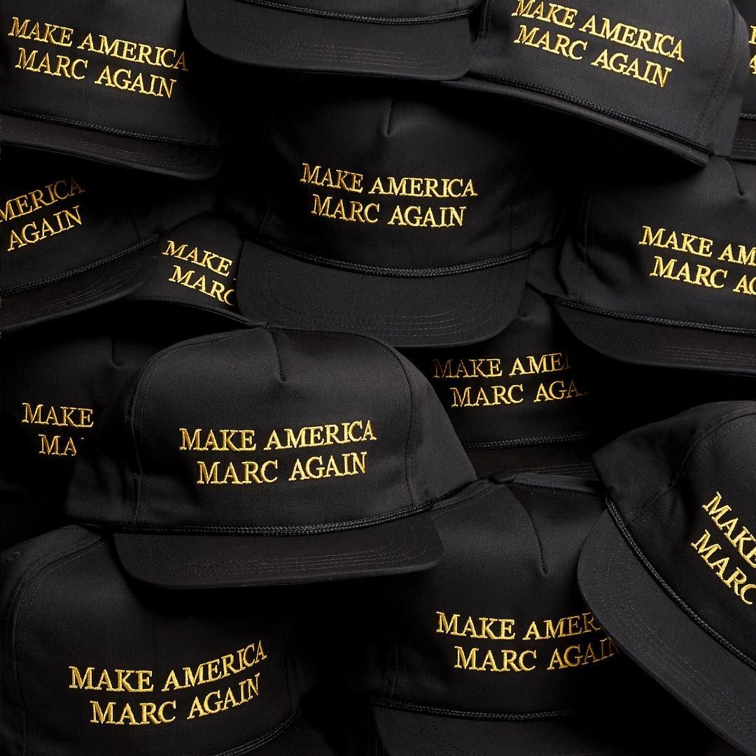Marc Jacobs finally drops limited edition of Make America Marc Again caps