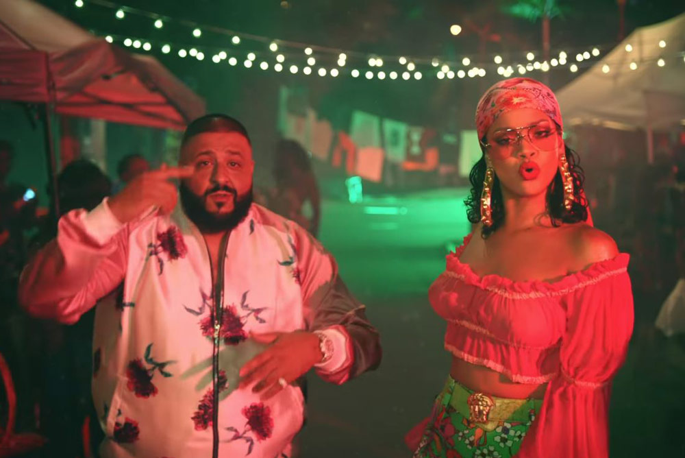 DJ Khaled Releases Brand New Song with Rihanna and Bryson Tiller