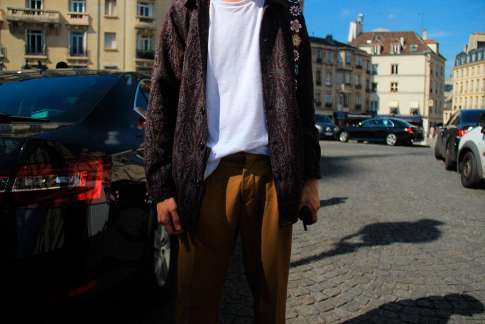 LOOK XLIV: Lorenzo does Italian style in Paris