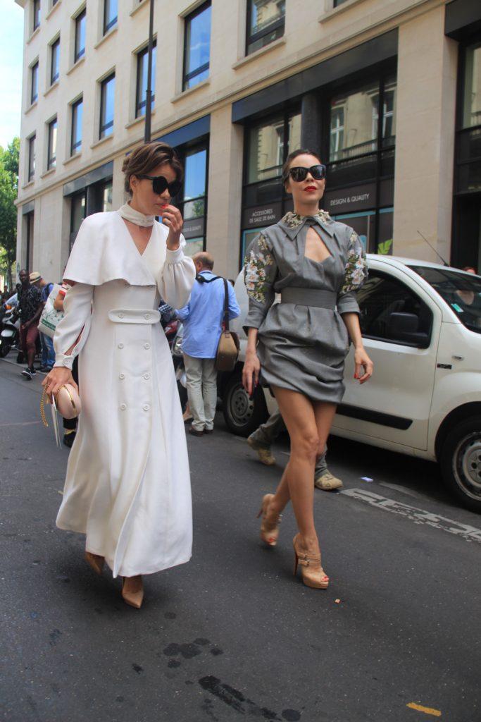 Uliyana Sergeenko - Street Style at Paris Couture Week