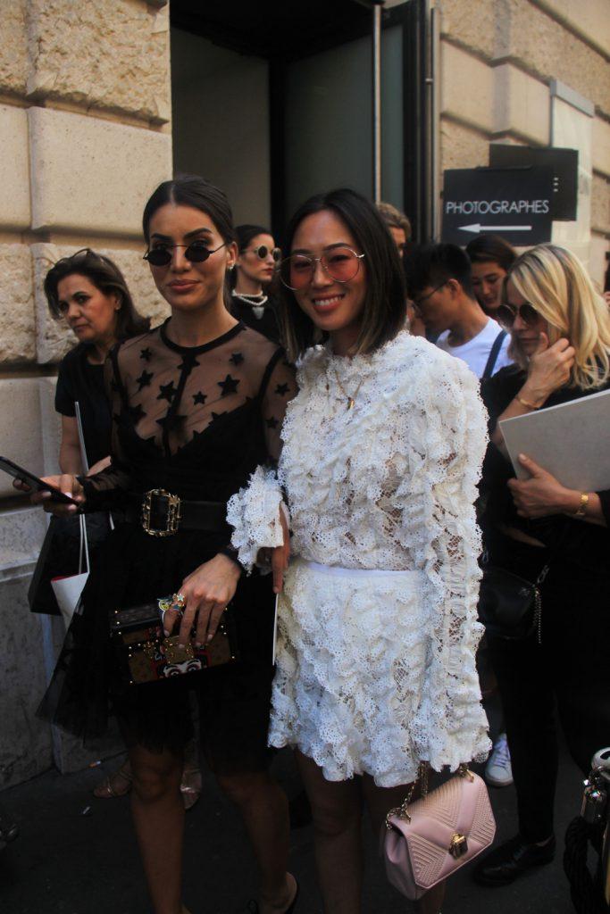 Camila Coelho and Aimee Song