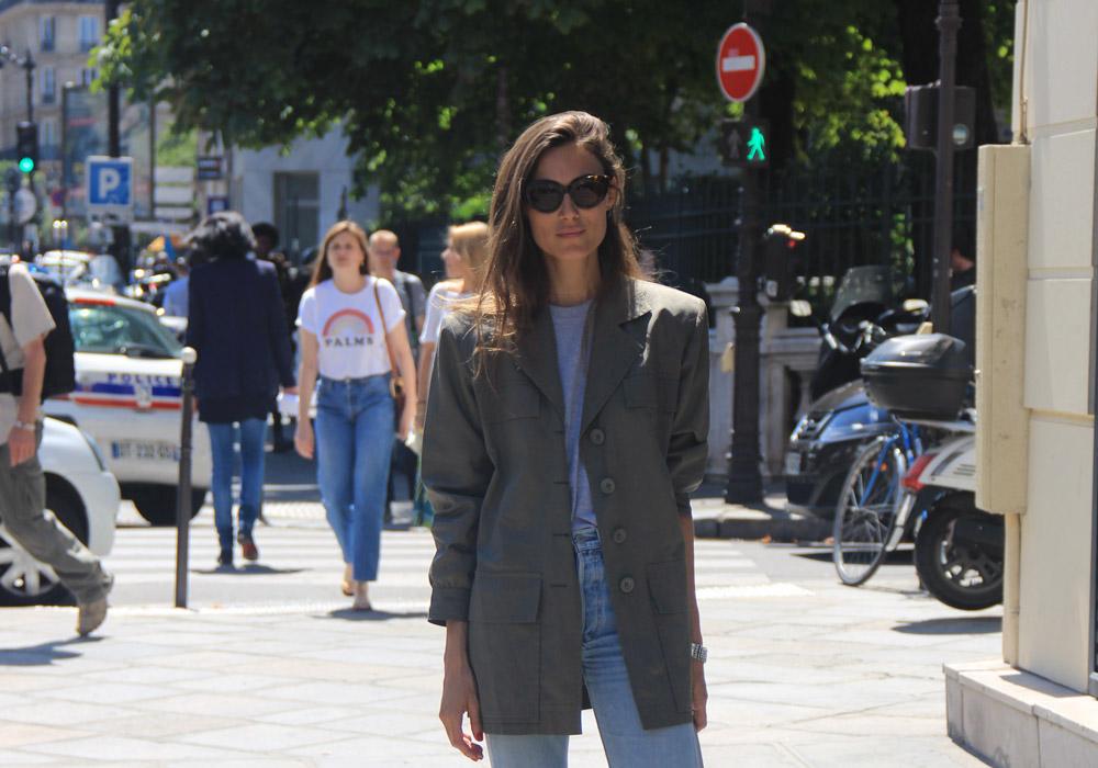 LOOK XXXVIII: Casual Parisian Style - Paris Street Style by Enfnts Terribles