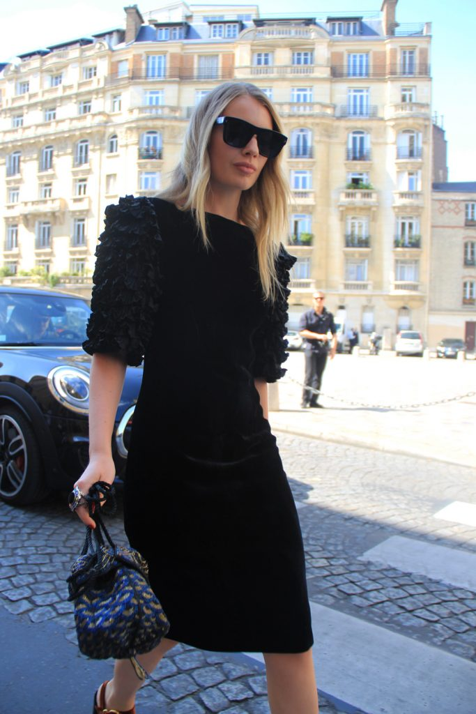 Street Style: Before and After the Ulyana Sergeenko show in Paris