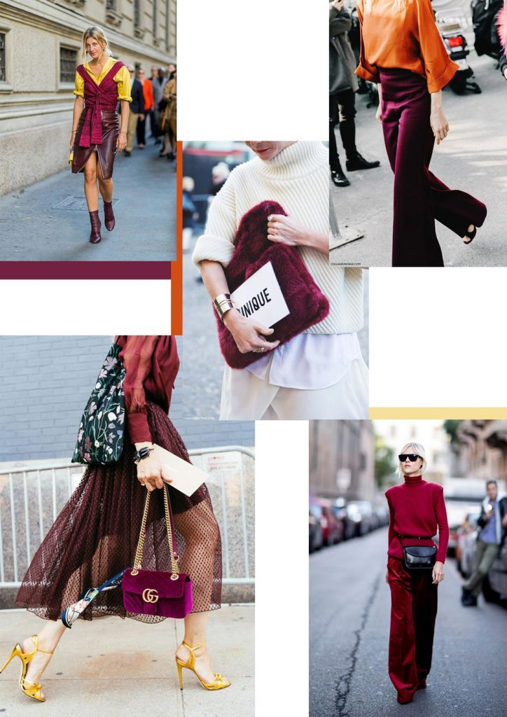 Burgundy color combinations