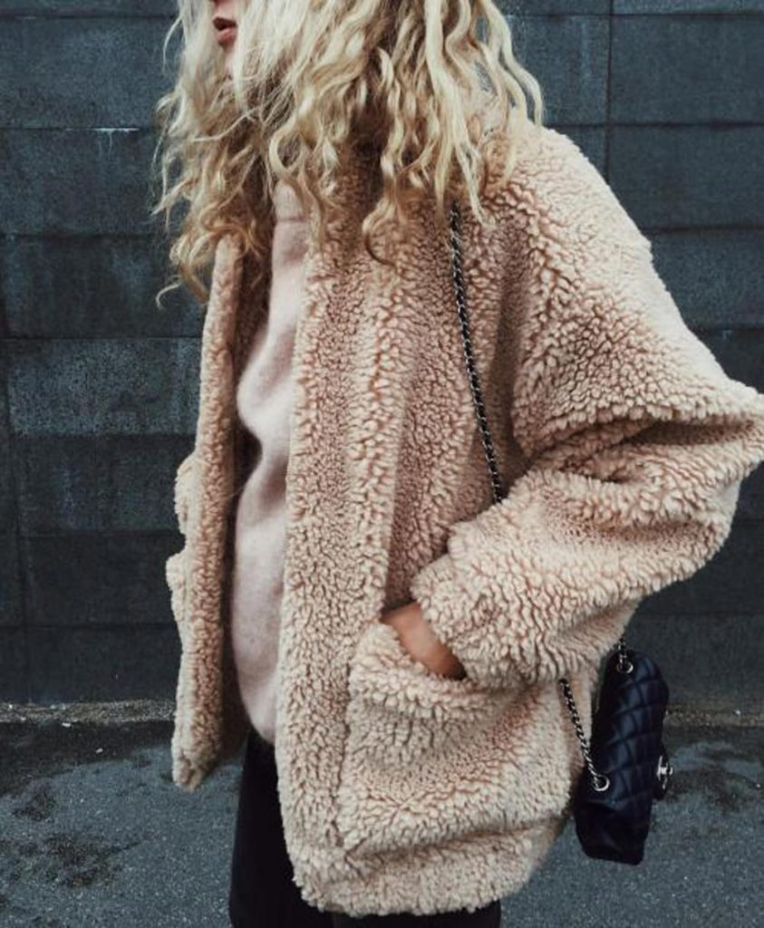 Trendsetter Teddy Coat