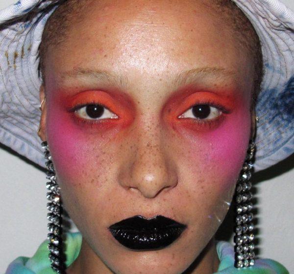 Ashley Williams make-up look NYFW