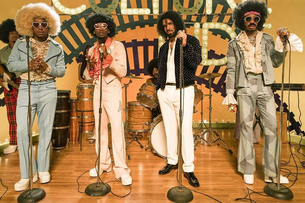 """Watch Migos New Soul Train Inspired Video for """"Walk It, Talk It"""" Feat. Drake"""