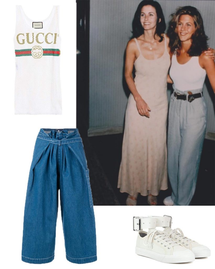 Friends Trends Fashion Rachel Monica 90's