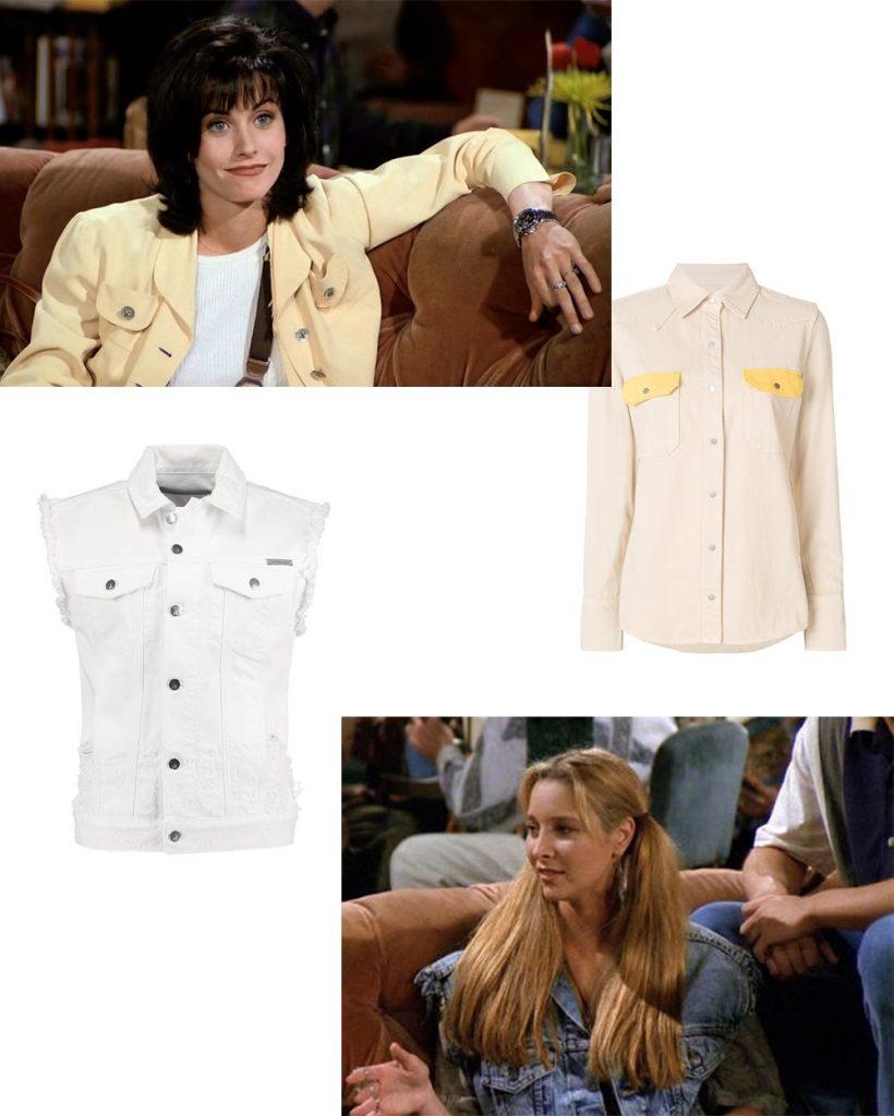 Friends Trends Fashion Monica Phoebe 90's