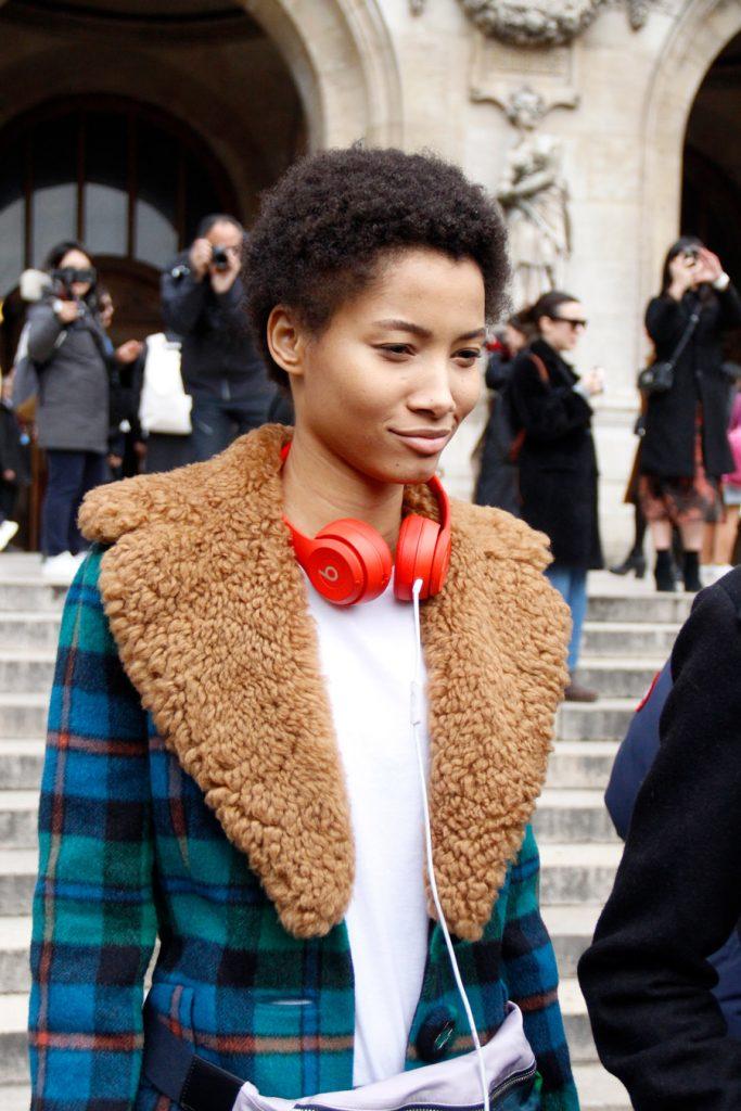 Street Style: Lineisy Montero at Paris Fashion Week FW18