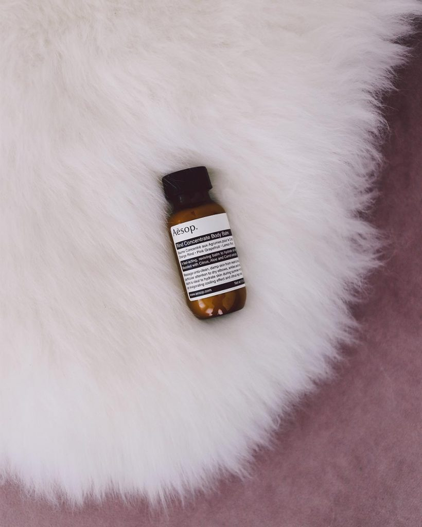 Travel Size Essentials Aesop Rind Concentrate Body Balm