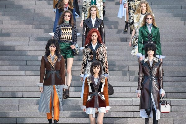 Watch as Louis Vuitton presents its Cruise 2019 collection