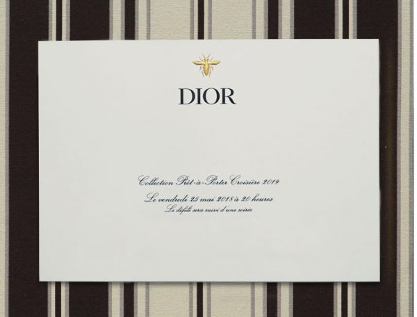 Watch the Dior Cruise 2019 runway show live from France's Chantilly Stables