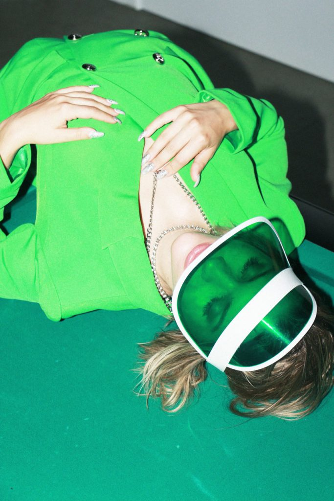 Tove Styrke in an editorial for Enfnts Terribles by Natalia Majchrzak