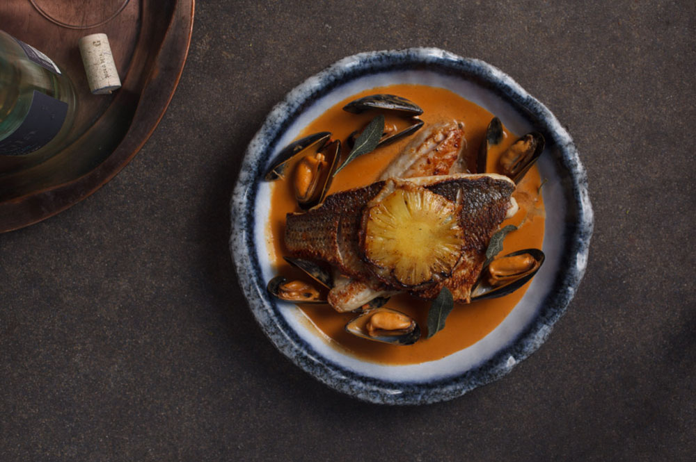 Culinary highlights Israel Helena Restaurant Caesaria