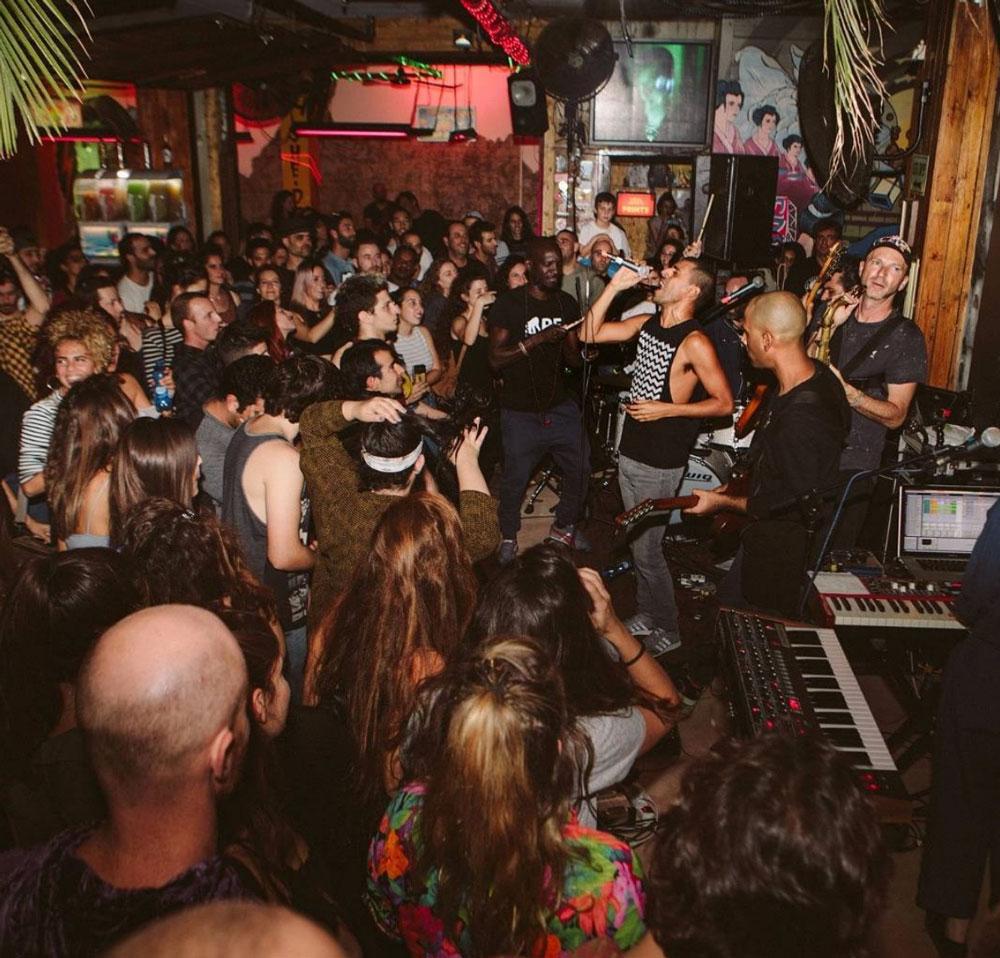 Hotspots Tel Aviv Party Kuli Alma