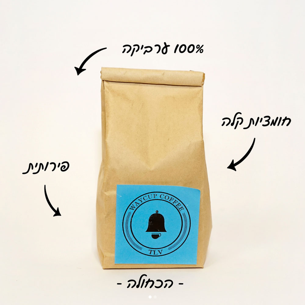 Hotspots Tel Aviv Waycup Coffee
