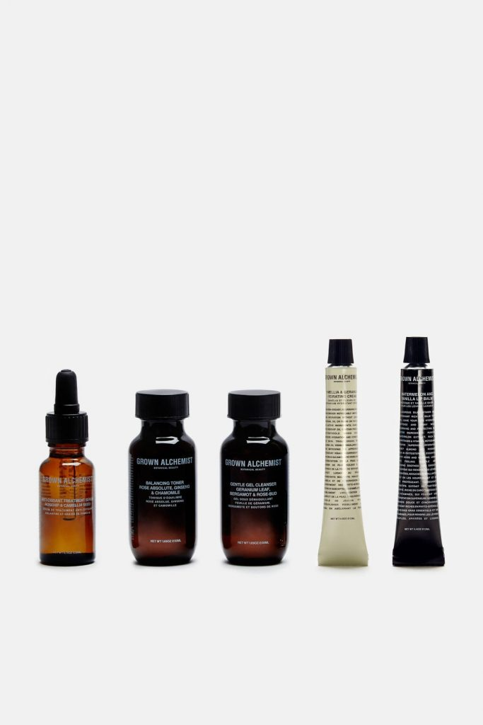 range of Grown Alchemist products