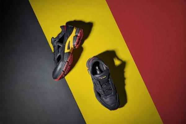 Adidas Raf Simons Ozweego RS Replicant Belgian colorway
