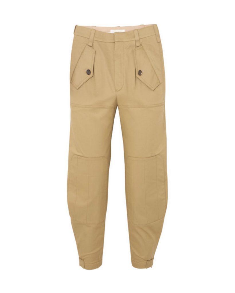 Workwear trend FW18 Chloé cargo pants