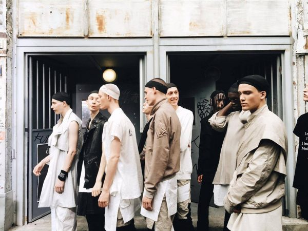 Backstage Views at Paris Fashion Week by Robin Joris Dullers