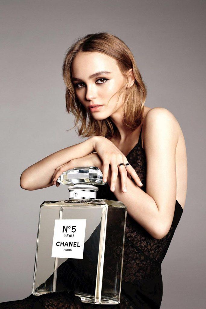 Chanel L'eau Lily Rose Depp