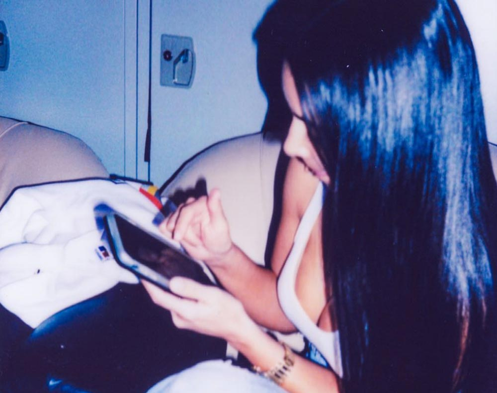 Kim Kardashian Pocahontas hair