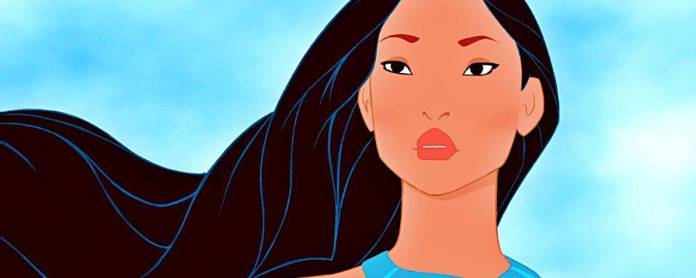 Pocahontas hairdo