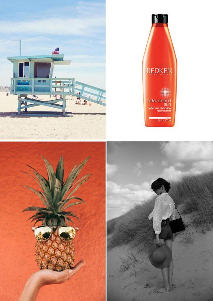 Haircare Redken sun care shampoo