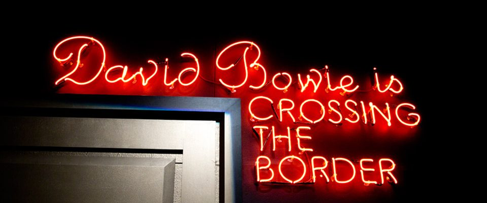 David Bowie is expo Barcelona