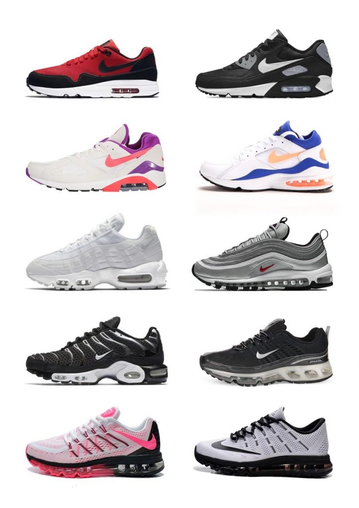 best deals on b6aeb 933b4 Nike Air Max, a Style Evolution