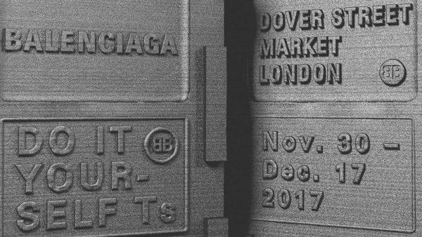 Balenciaga Brings Copyshop concept to London's Dover Street Market