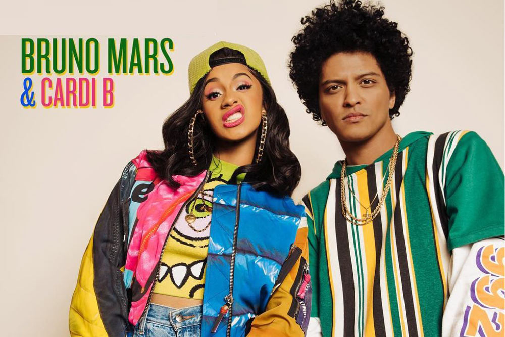 Holy Nineties! Cardi B And Bruno Mars Team Up