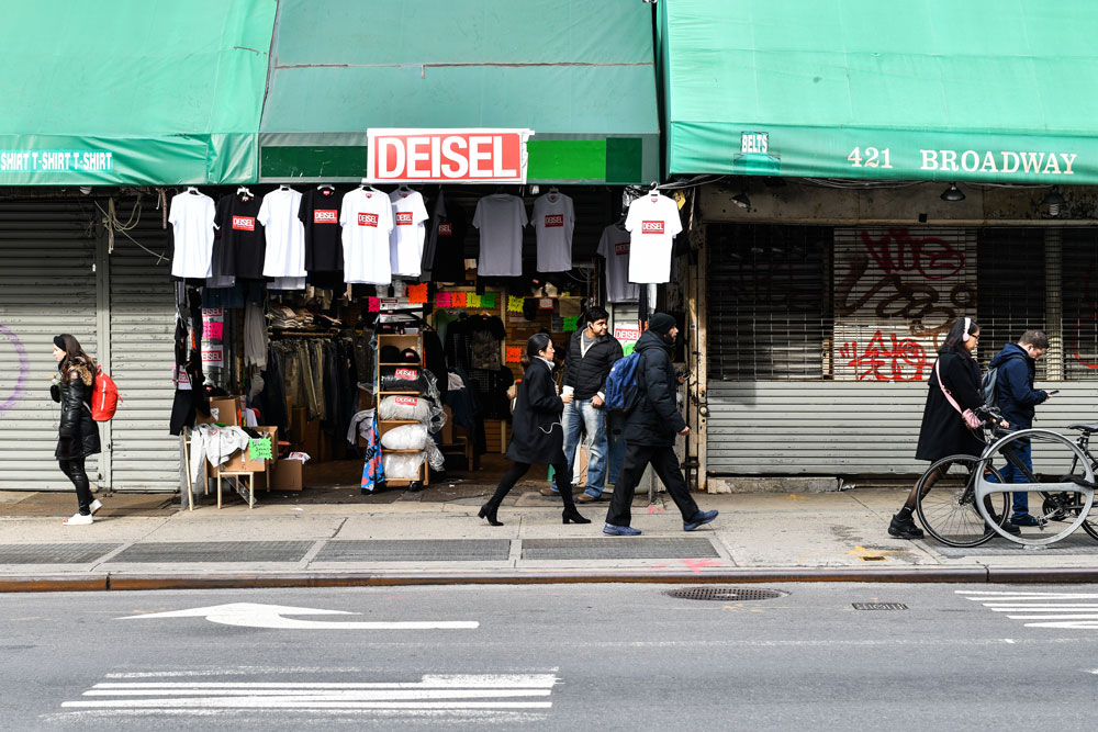Diesel Revealed to Be the Brain Behind Its Own 'Deisel' Knock off Boutique