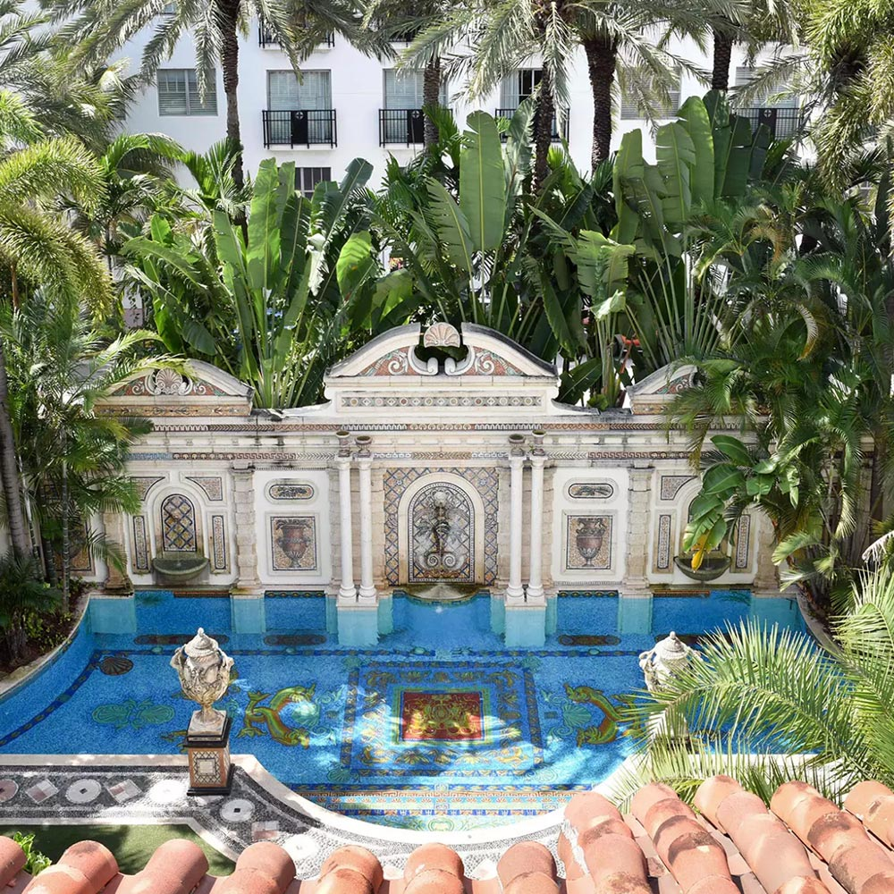 Relive the American Crime Story at the Gianni Versace Mansion in Miami