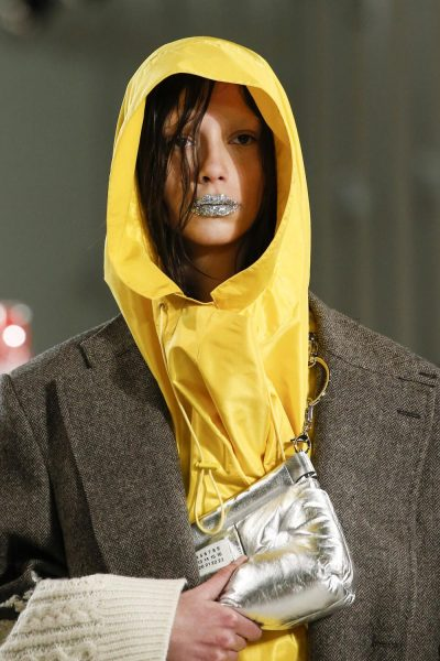 Out of This World: On those Galaxy Lips at the Margiela FW18 Show