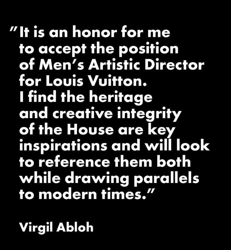 Louis Vuitton appoints new creative director for men's department