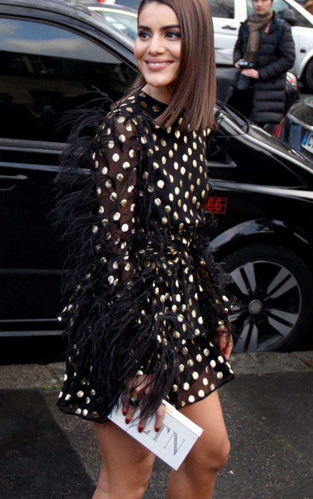 Camila Coelho at Paris Fashion Week FW18