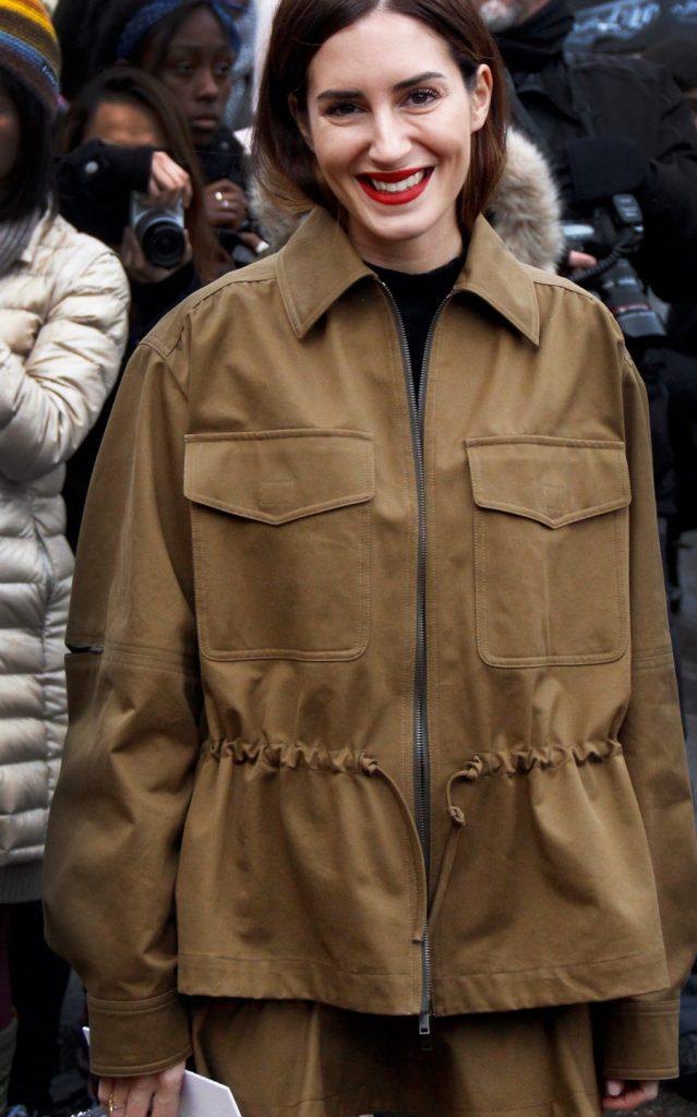 Gala Gonzalez at Paris Fashion Week FW18