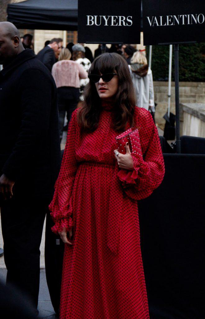 Eleonora Carisi at Paris Fashion Week FW18