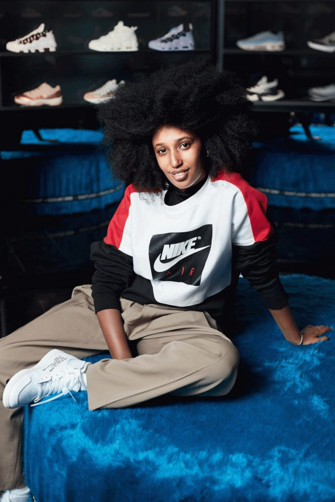 Nike Women run the sneaker world