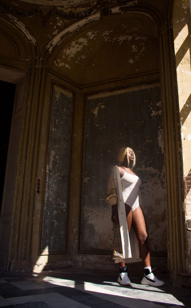 Editorial: Chateau de Chantelle feat. rapper Miss Angel