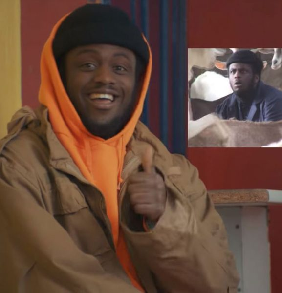 """Dvtch Norris Is Chilling with GOATS in His New Music Video for """"Toothpick"""" Ft. Bhavi"""