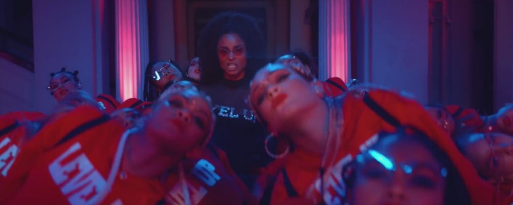 Ciara in music video 'Level Up'